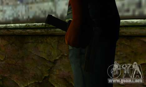 Glock 18 from Medal of Honor: Warfighter para GTA San Andreas tercera pantalla