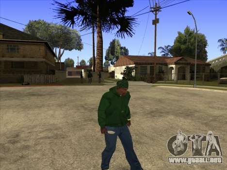 Cleo Walk Style para GTA San Andreas sucesivamente de pantalla
