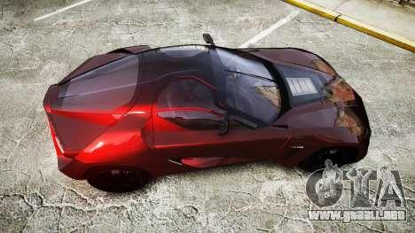 Bertone Mantide 2009 para GTA 4 visión correcta