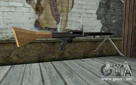 MG-34 from Day of Defeat para GTA San Andreas segunda pantalla