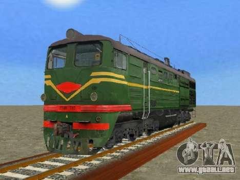 Locomotora 2TE10L-079 para GTA San Andreas