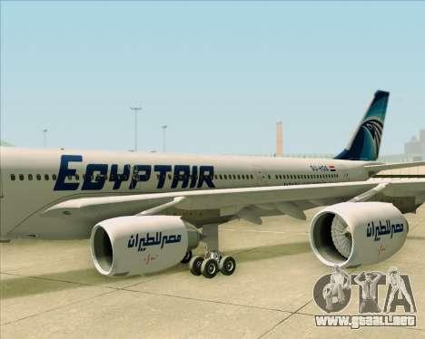 Airbus A340-600 EgyptAir para GTA San Andreas