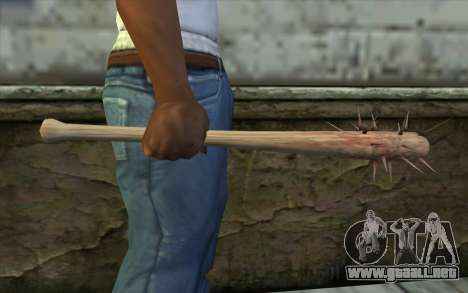 Nail Bat from Beta Version para GTA San Andreas tercera pantalla