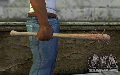 Nail Bat from Beta Version para GTA San Andreas tercera pantalla
