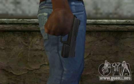 Pistol from Deadpool para GTA San Andreas tercera pantalla