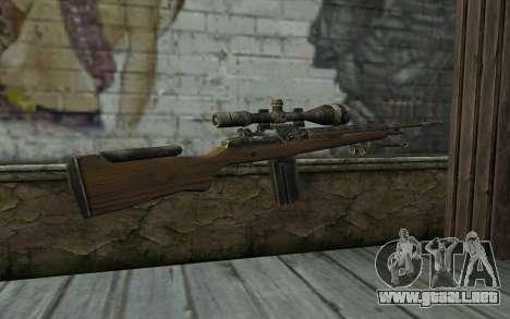 M21 from Battlefield: Vietnam para GTA San Andreas segunda pantalla