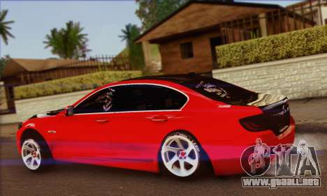 BMW 535i F10 Stance Works para GTA San Andreas left