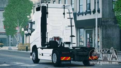 Volvo FH16 Truck para GTA 4 left