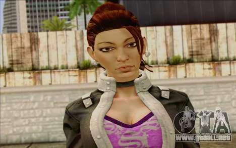 Shaundi from Saints Row The Third para GTA San Andreas tercera pantalla