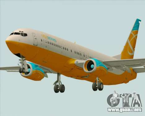 Boeing 737-800 Orbit Airlines para GTA San Andreas