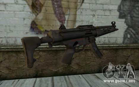 MP5 from FarCry 3 para GTA San Andreas segunda pantalla