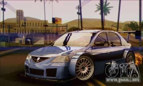 Dacia Logan Trophy Edition 2005 para GTA San Andreas
