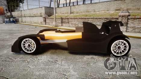 Caparo T1 para GTA 4 left
