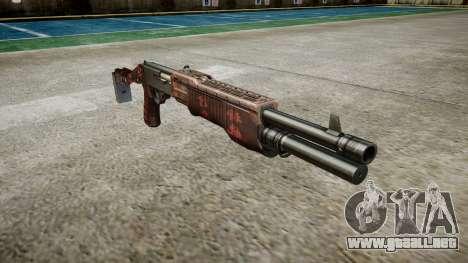 Ружье Franchi SPAS-12 Arte de la Guerra para GTA 4