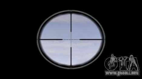 Rifle de M16A4 ACOG destino para GTA 4 tercera pantalla