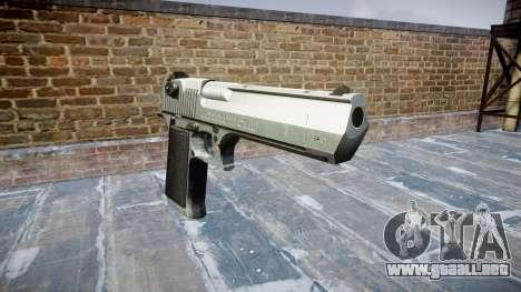 Пистолет IMI Desert Eagle Mc XIX Chrome para GTA 4