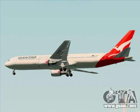 Boeing 767-300ER Qantas (New Colors) para las ruedas de GTA San Andreas