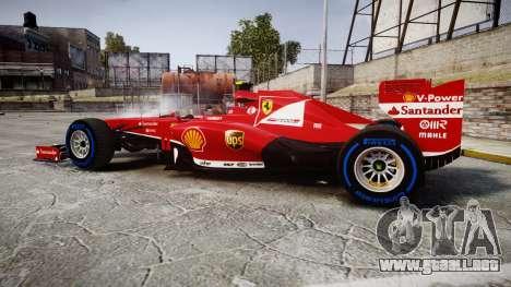 Ferrari F138 v2.0 [RIV] Massa TFW para GTA 4 left