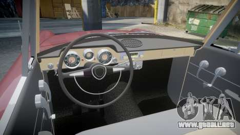 FSO Warszawa Ghia Kombi 1959 para GTA 4 vista interior