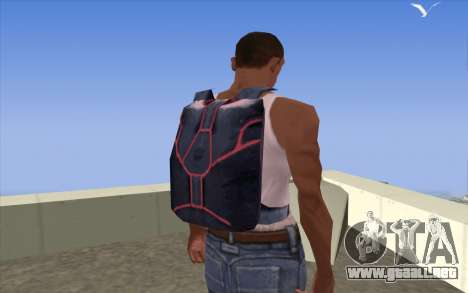 Parachute from Beta Version para GTA San Andreas tercera pantalla