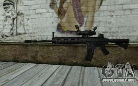 HK416 (Bump mapping) v2 para GTA San Andreas