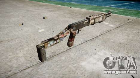 Ружье Franchi SPAS-12 de Zombies para GTA 4 segundos de pantalla