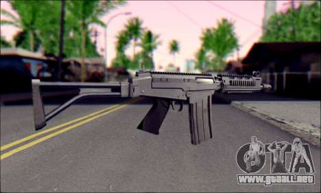 FN FAL from ArmA 2 para GTA San Andreas tercera pantalla
