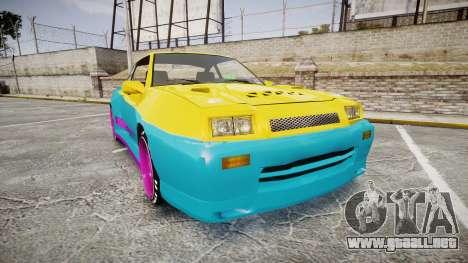 Opel Manta B GTE para GTA 4