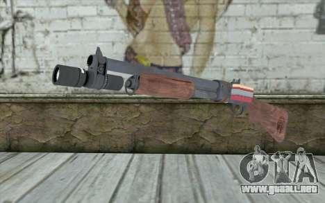 Shotgun from Primal Carnage v2 para GTA San Andreas
