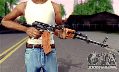 ACMs de ArmA 2 para GTA San Andreas tercera pantalla