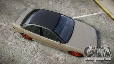 Dinka Chavos Custom para GTA 4 visión correcta