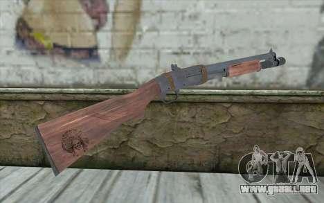 Shotgun from Primal Carnage v1 para GTA San Andreas segunda pantalla