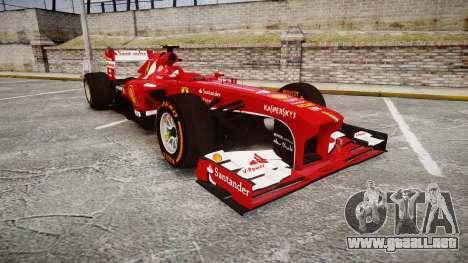 Ferrari F138 v2.0 [RIV] Massa THD para GTA 4