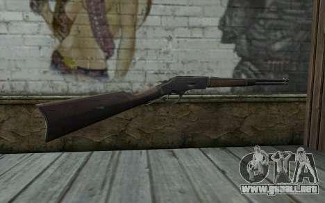 Winchester 1873 v3 para GTA San Andreas segunda pantalla
