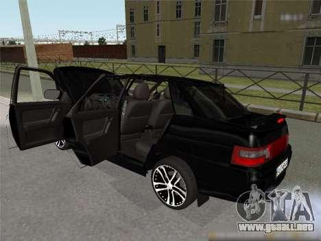 ESTOS 2110 XN para GTA San Andreas vista posterior izquierda