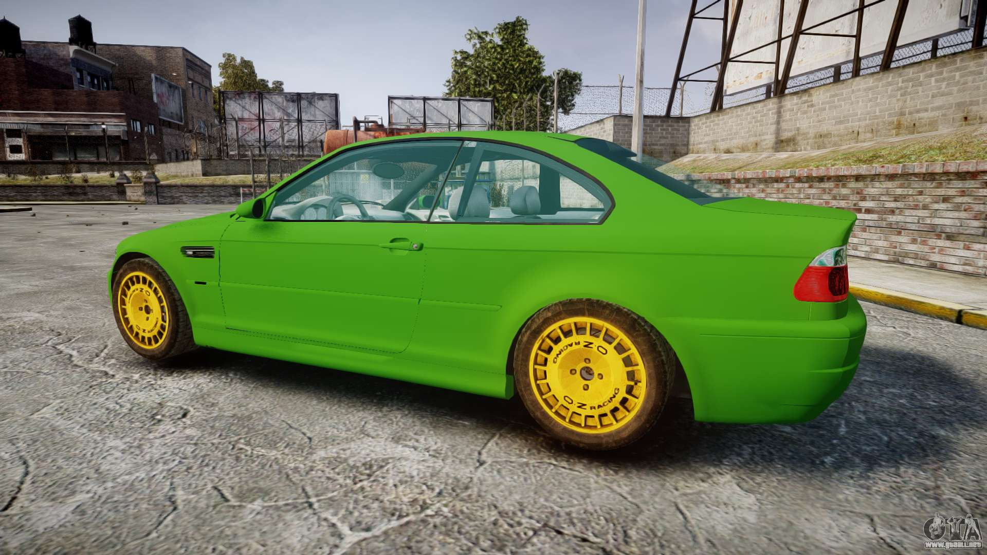 49084 Bmw M3 E46 2001 Tuned Wheel Gold on oracle gta