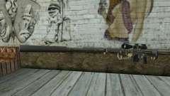 Rifle De Francotirador Cheytac M200 Intervention para GTA San Andreas