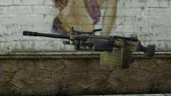 FN M249E2 SAW from SoF: Payback para GTA San Andreas