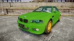 BMW M3 E46 2001 Tuned Wheel Gold para GTA 4