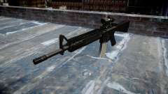 Rifle de M16A4 ACOG destino para GTA 4