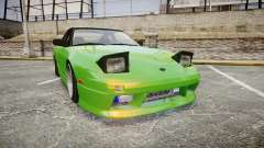 Nissan 240SX S13 Tuned