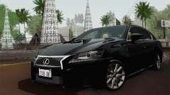 Lexus GS350 F Sport 2013 para GTA San Andreas