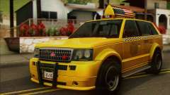 VAPID Huntley Taxi (Saints Row 4 Style) para GTA San Andreas