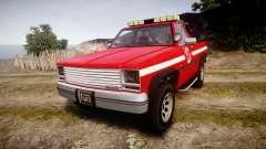Declasse Rancher Towtruck [ELS] para GTA 4