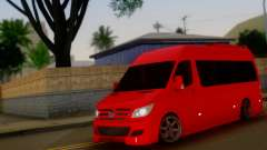 Mercedes-Benz Sprinter VIP para GTA San Andreas