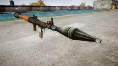 Portátil antitanque lanzagranadas (RPG)