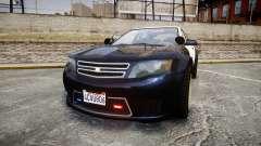 GTA V Cheval Fugitive LS Police [ELS] Slicktop