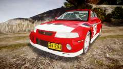 Mitsubishi Lancer Evolution VI 2000 Rally para GTA 4