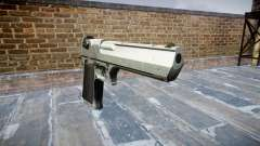 Пистолет IMI Desert Eagle Mc XIX Chrome para GTA 4