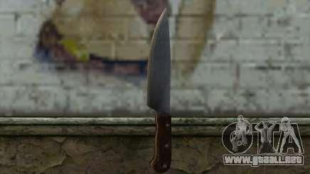 Cuchillo De Cocina (DayZ Standalone) para GTA San Andreas